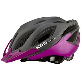 KED Spiri Two Helmet black matt visor violet